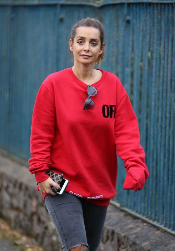 Louise Redknapp Street Style - Malvern, England 10/14/2017