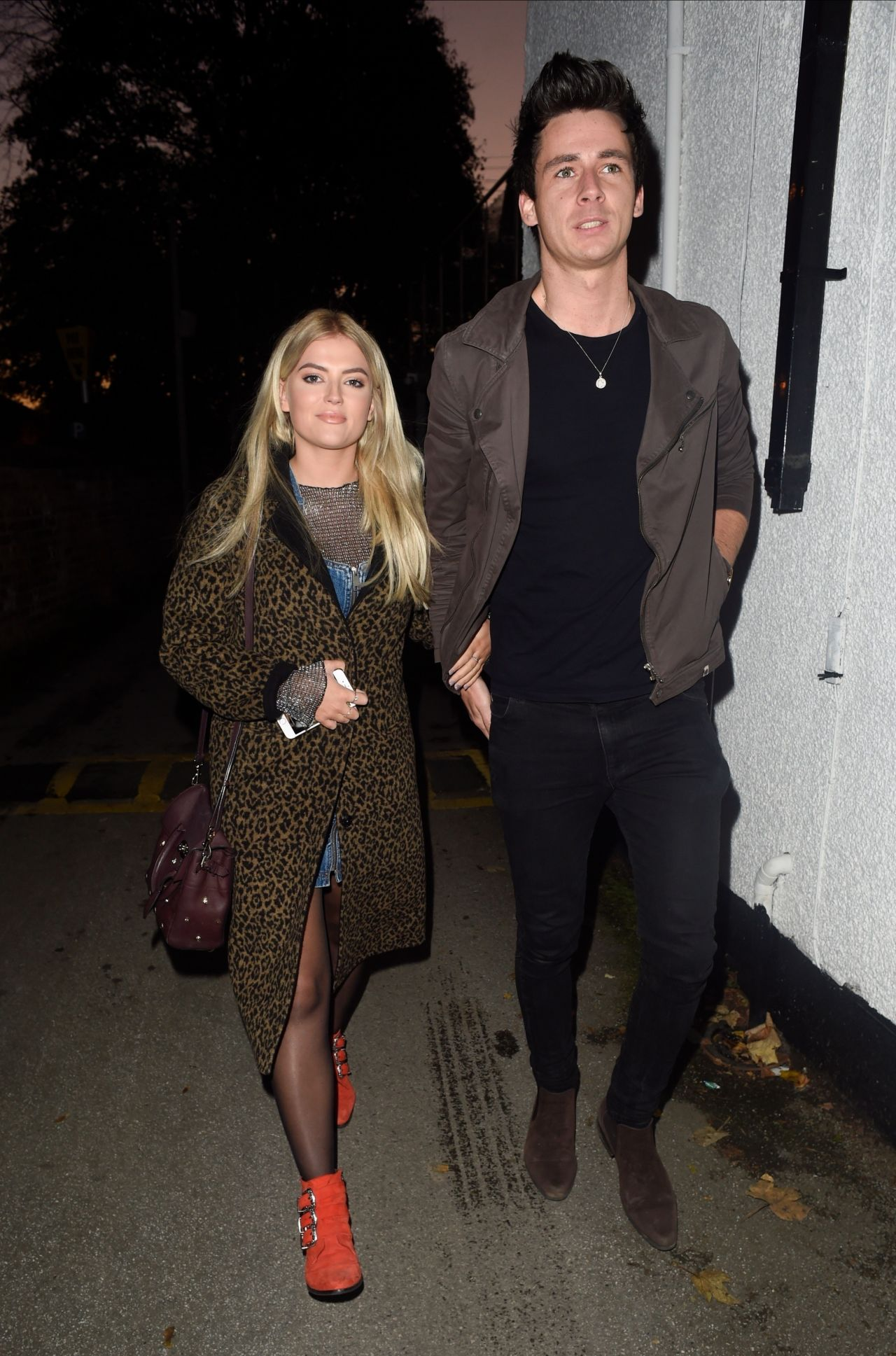 Lucy Fallon - Georges Restaurant in Worsley, UK 10/29/2017