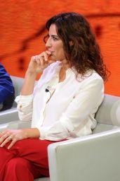 """Luisa Ranieri - """"Che Tempo Che Fa"""" in Milan 10/02/2017"""