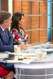 Luisa Zissman - Good Morning Britain TV Show in London 10/10/2017
