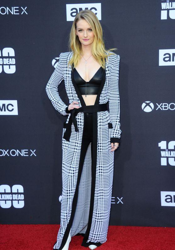 "Lydia Hearst – ""The Walking Dead"" 100th Episode Premiere in Los Angeles"
