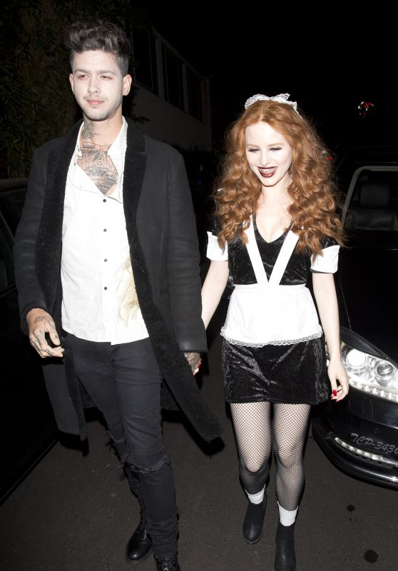 Madelaine Petsch – Just Jared Halloween Party in LA 10/27/2017