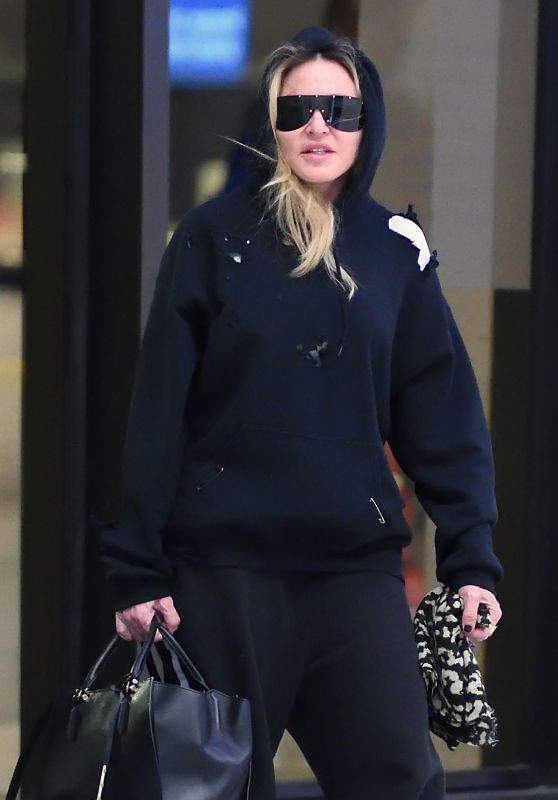 Madonna at JFK Airport in New York City 10/02/2017