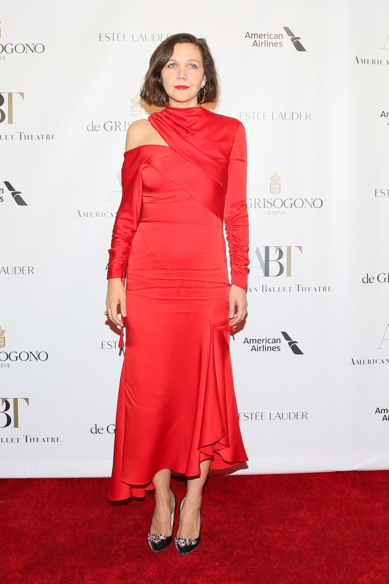 MAGGIE GYLLENHAAL at American Ballet Theatre Fall Gala in