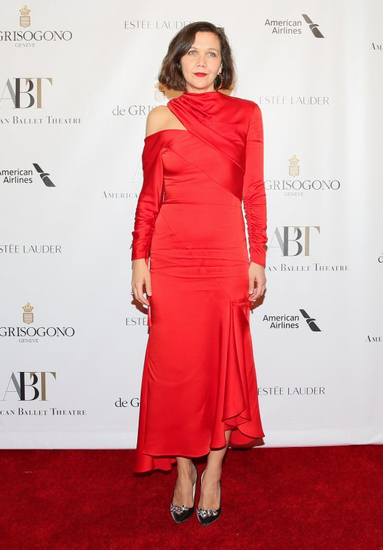 Maggie Gyllenhaal – American Ballet Theatre Fall Gala in New York