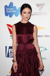 Mallory Jansen – Australians in Film Awards Benefit Dinner in Los Angeles