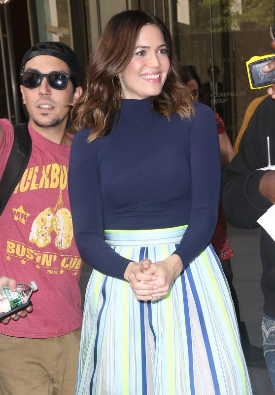 Mandy Moore - Greets Her Fans at Sirius XM in NYC 10/10/2017