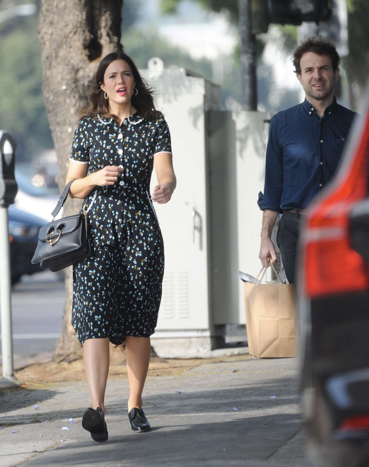 Mandy Moore - Out in Los Angeles 10/29/2017