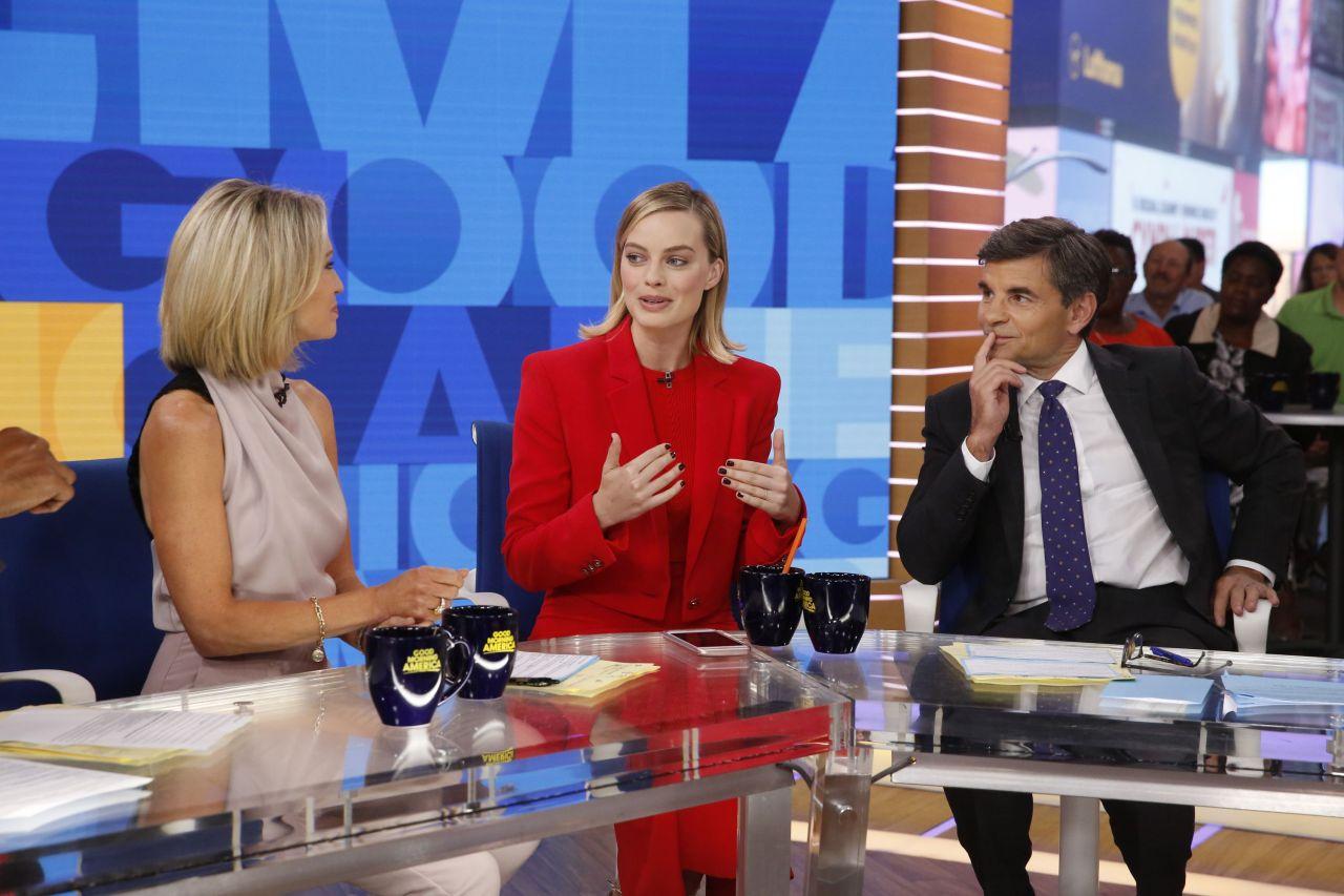 Good Morning America Abc : Margot robbie appeared on abc s good morning america