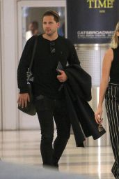 Margot Robbie at JFK Airport in New York 10/08/2017