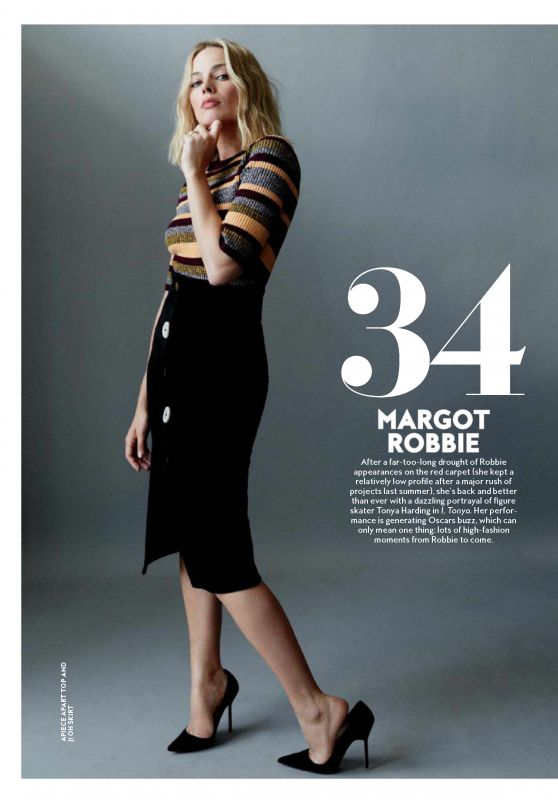 Margot Robbie – InStyle USA November 2017