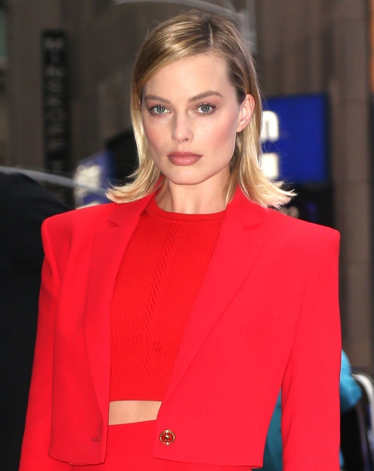 Margot Robbie - Visits the ABC Studios for Good Morning America in NYC
