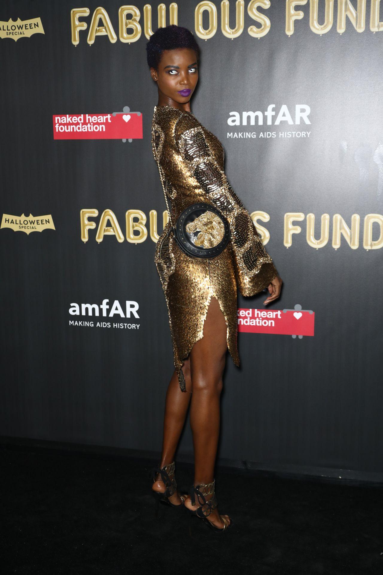Maria Borges – 2017 amfAR Fabulous Fund Fair in NYC