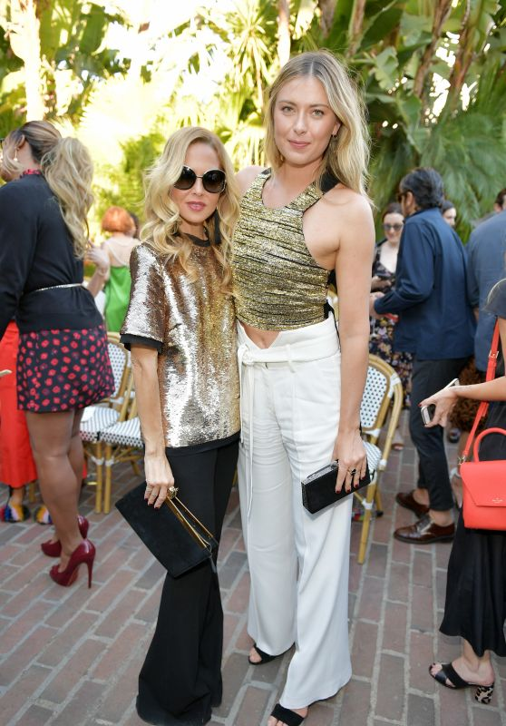 Maria Sharapova – CFDA/Vogue Fashion Fund Show in LA 10/25/2017