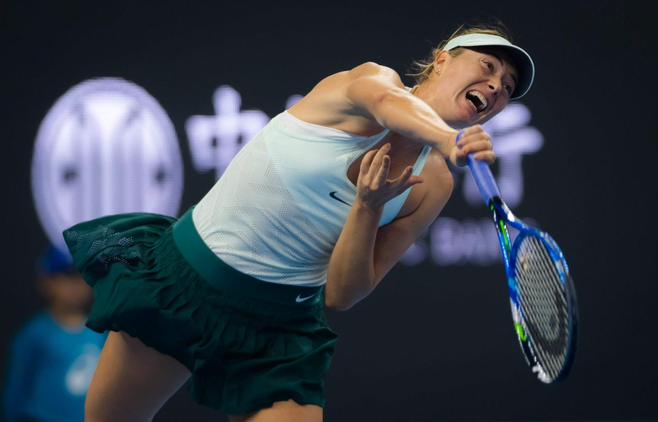 Maria Sharapova China Open Tennis 2017 In Beijing 09 30 2017