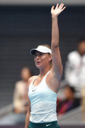 Maria Sharapova - China Open Tennis 2017 in Beijing 10/03/2017