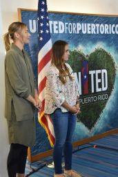 Maria Sharapova & Monica Puig - Charity Event in Puerto Rico for the Victims of Hurricane 10/23/2017