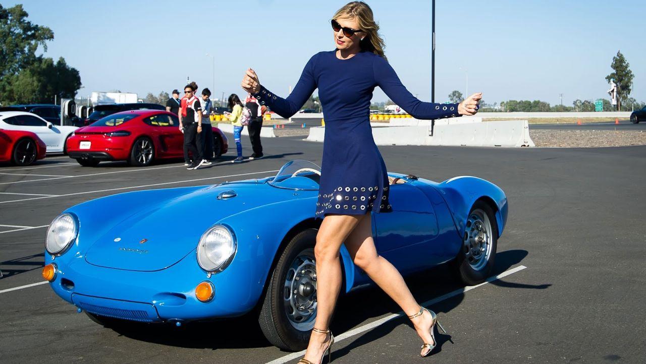 Sharapova Porsche