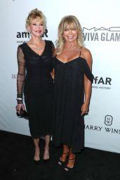Melanie Griffith and Goldie Hawn - amfAR Gala 2017 in Los Angeles
