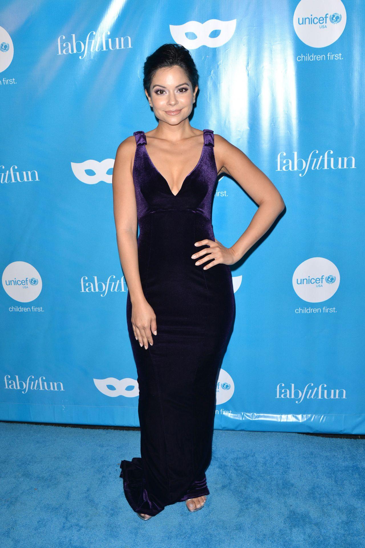 Melissa Carcache – UNICEF Masquerade Ball in LA 10/27/2017