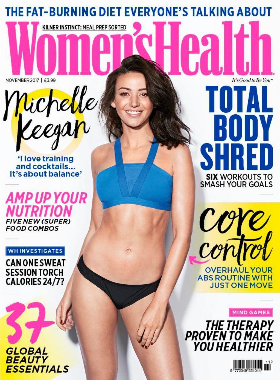 Michelle Keegan Women S Health Magazine November 2017