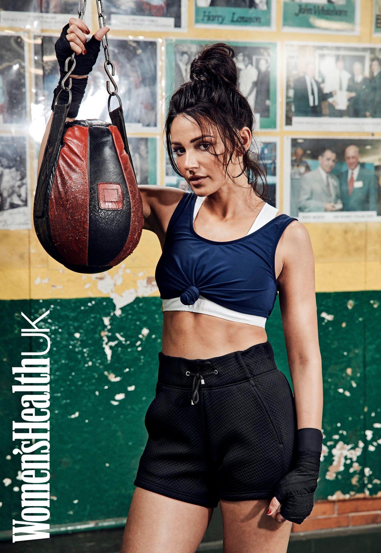 Michelle Keegan - Women's Health Magazine November 2017