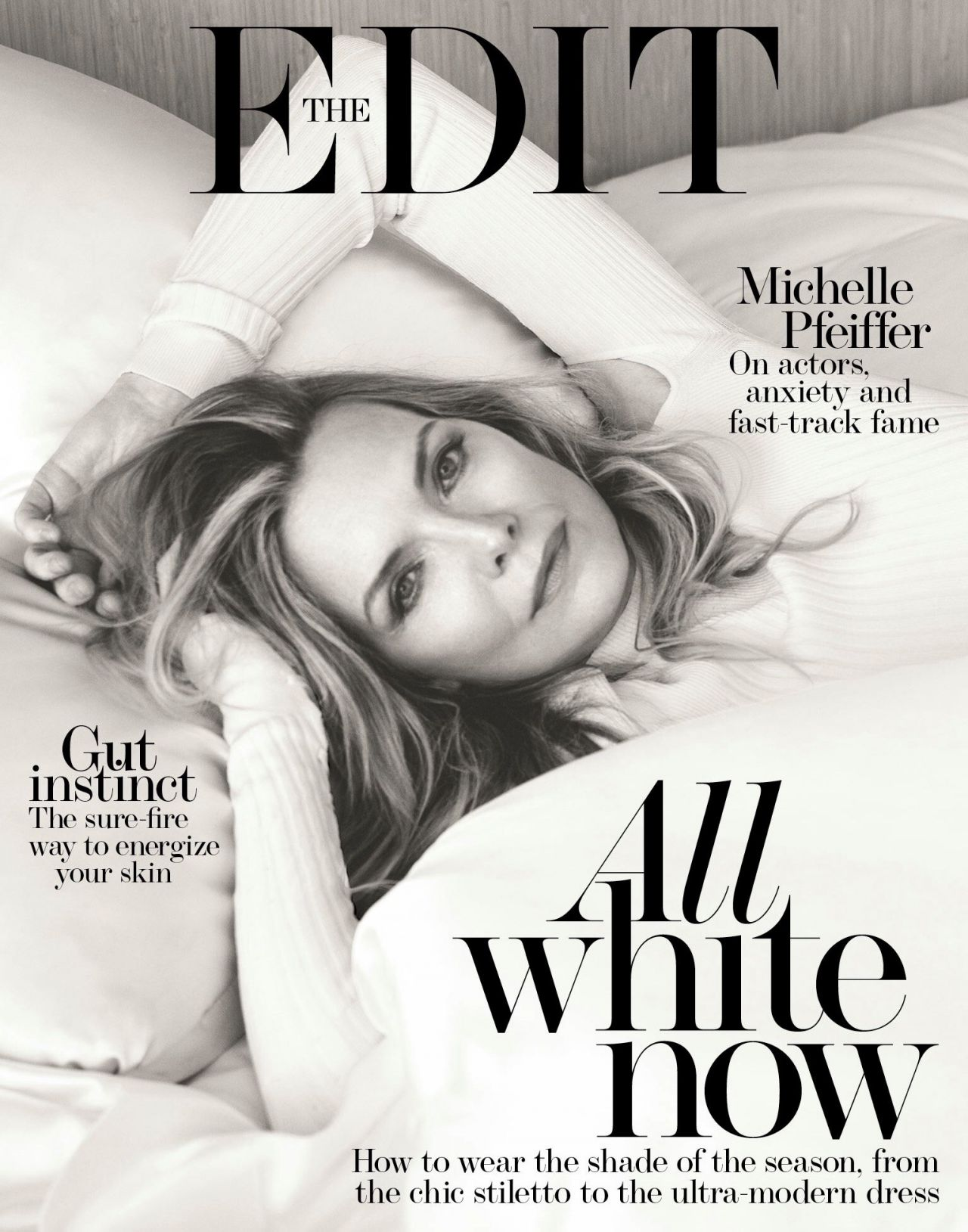 Michelle Pfeiffer - The Edit Magazine 10/12/2017