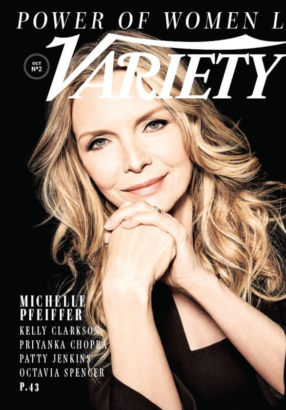 Michelle Pfeiffer - Variety: Power of Women October 2017 Cover
