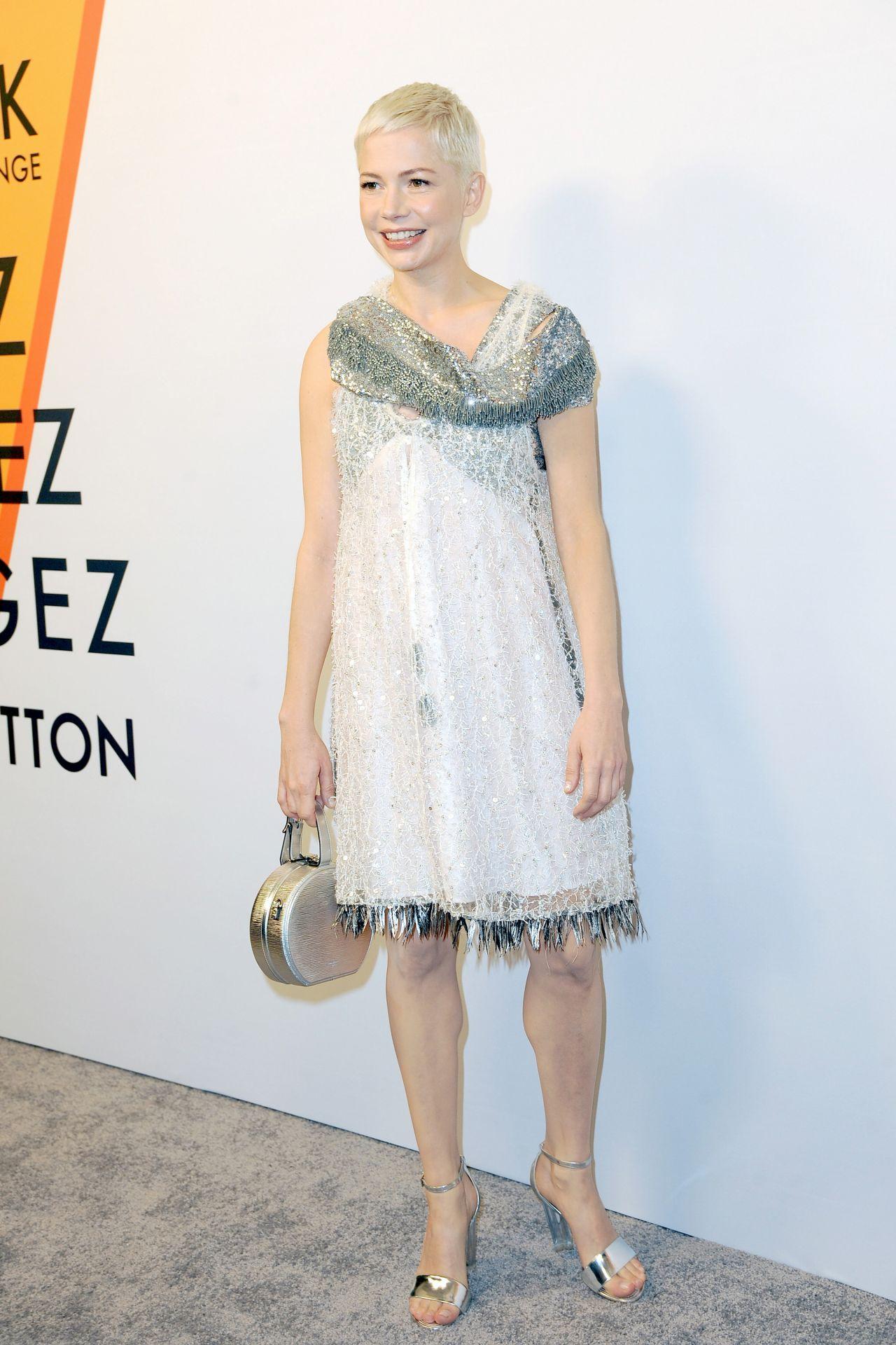 Michelle Williams – Volez, Voguez, Voyagez: Louis Vuitton Exhibition Opening in NYC