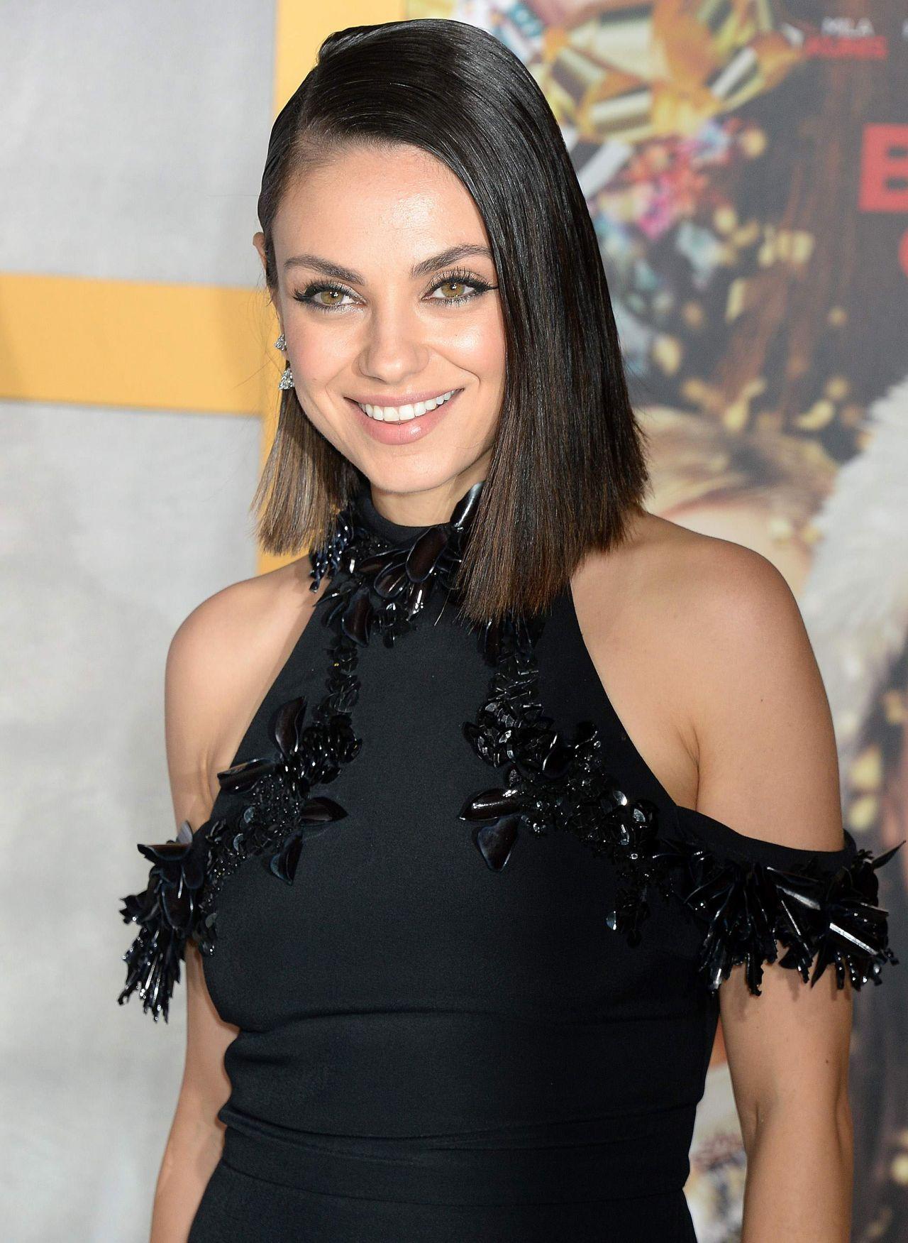 """Mila Kunis - """"A Bad Moms Christmas"""" Premiere in Westwood ... Mila Kunis"""