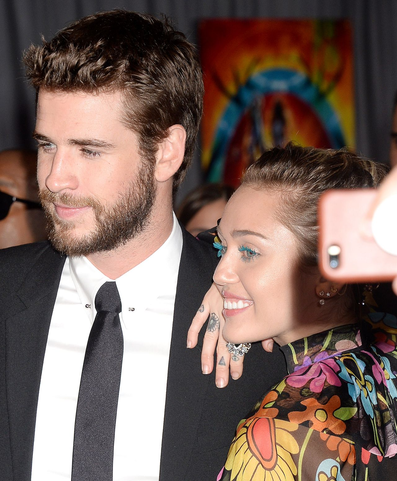 "Miley Cyrus and Liam Hemsworth – ""Thor: Ragnarok"" Premiere in Los Angeles 10/10/2017"