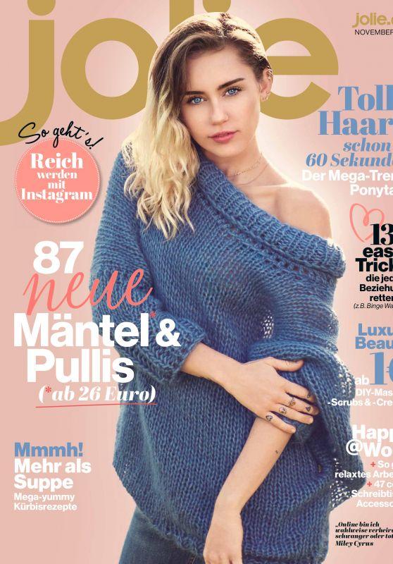 Miley Cyrus - Jolie Magazine November 2017 Issue