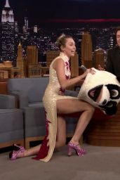 Miley Cyrus - The Tonight Show Starring Jimmy Fallon 10/06/2017