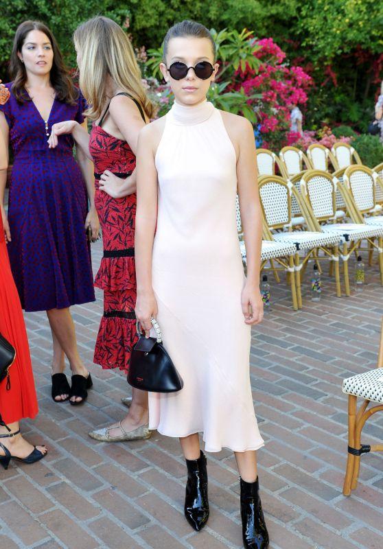 Millie Bobby Brown - CFDA/Vogue Fashion Fund Show in LA 10/25/2017