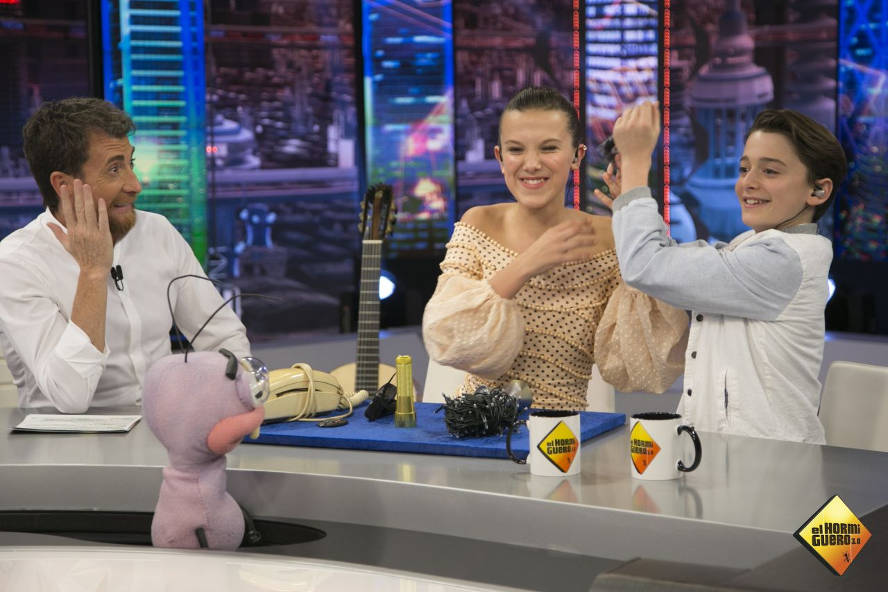 Millie Bobby Brown - El Hormiguero TV Show in Madrid 10/09/2017