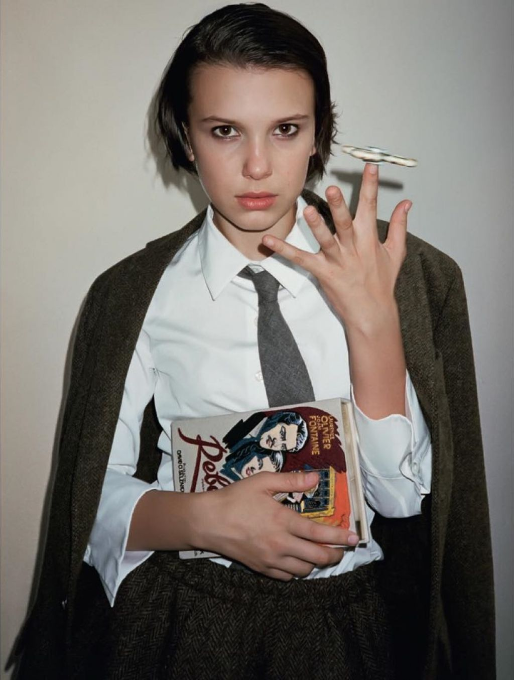 Millie Bobby Brown L Uomo Vogue October 2017