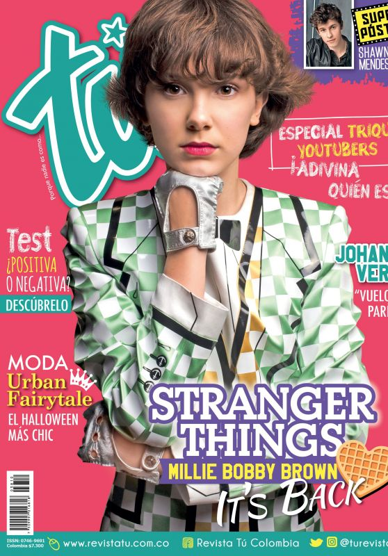 Millie Bobby Brown - Revista Tu Colombia October 2017