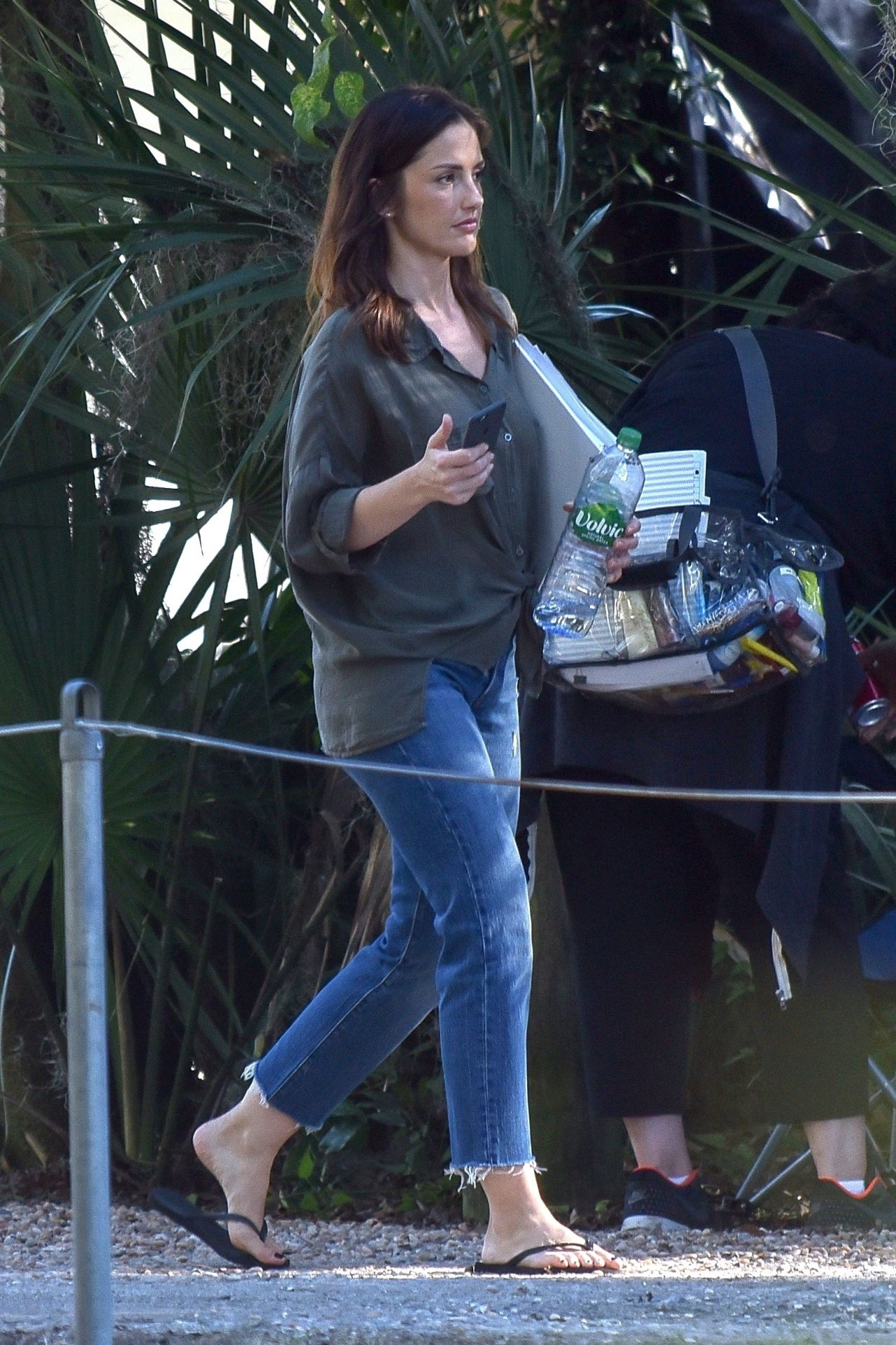 """Filming In Progress The Most Beautiful Actress In The World: Filming """"The Beach House"""" In Savannah 10/25/2017"""