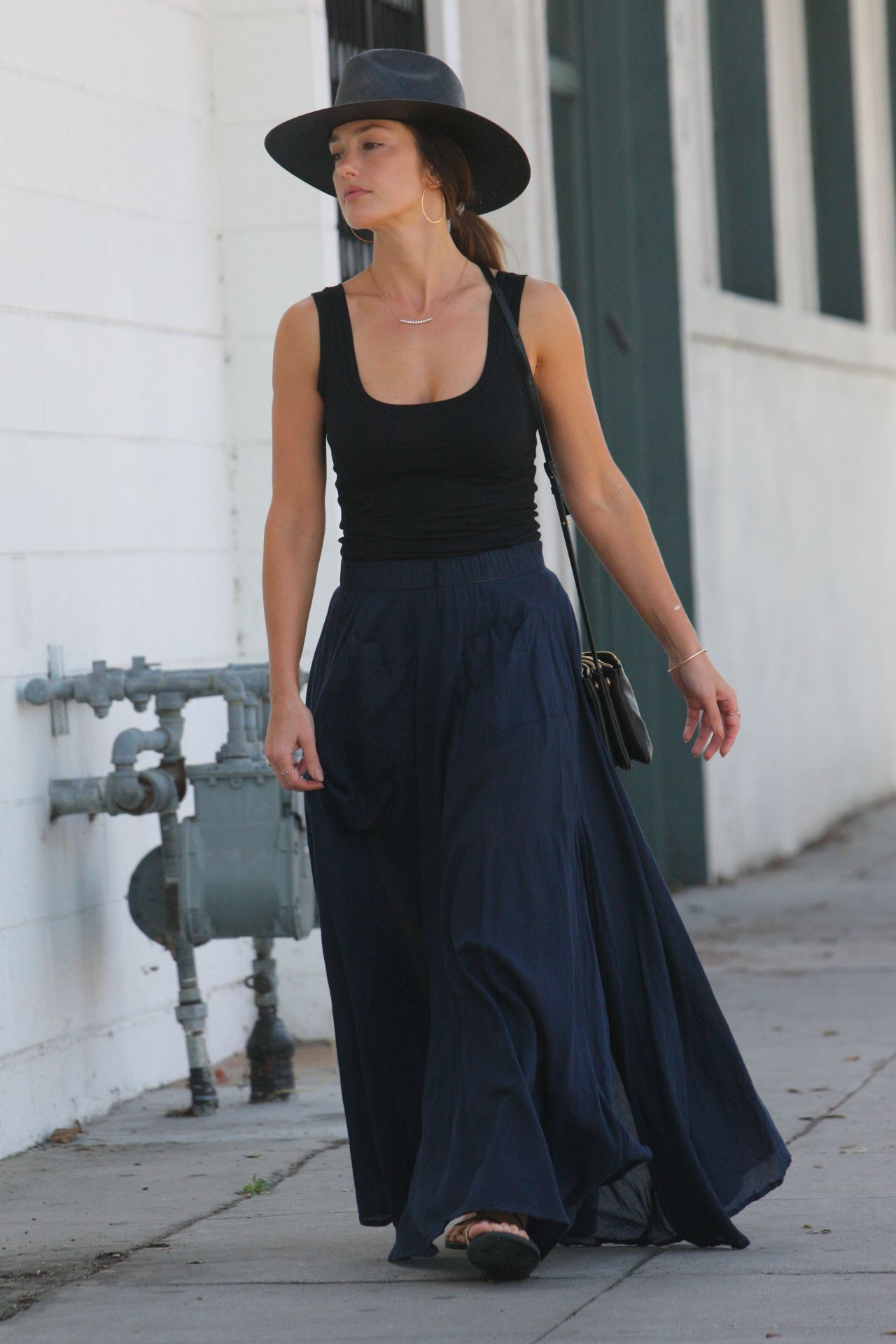 Minka Kelly - Out in Beverly Hills 10/11/2017
