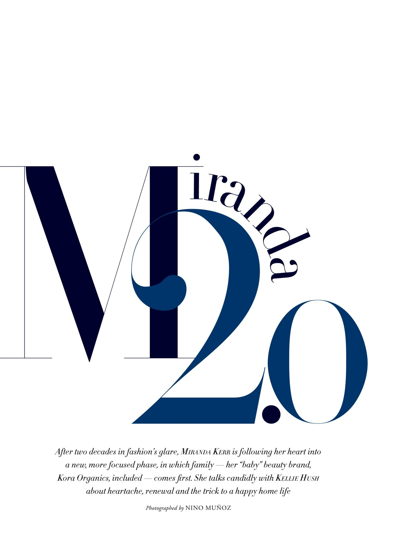 Miranda Kerr - Harper's Bazaar Australia November 2017 Issue