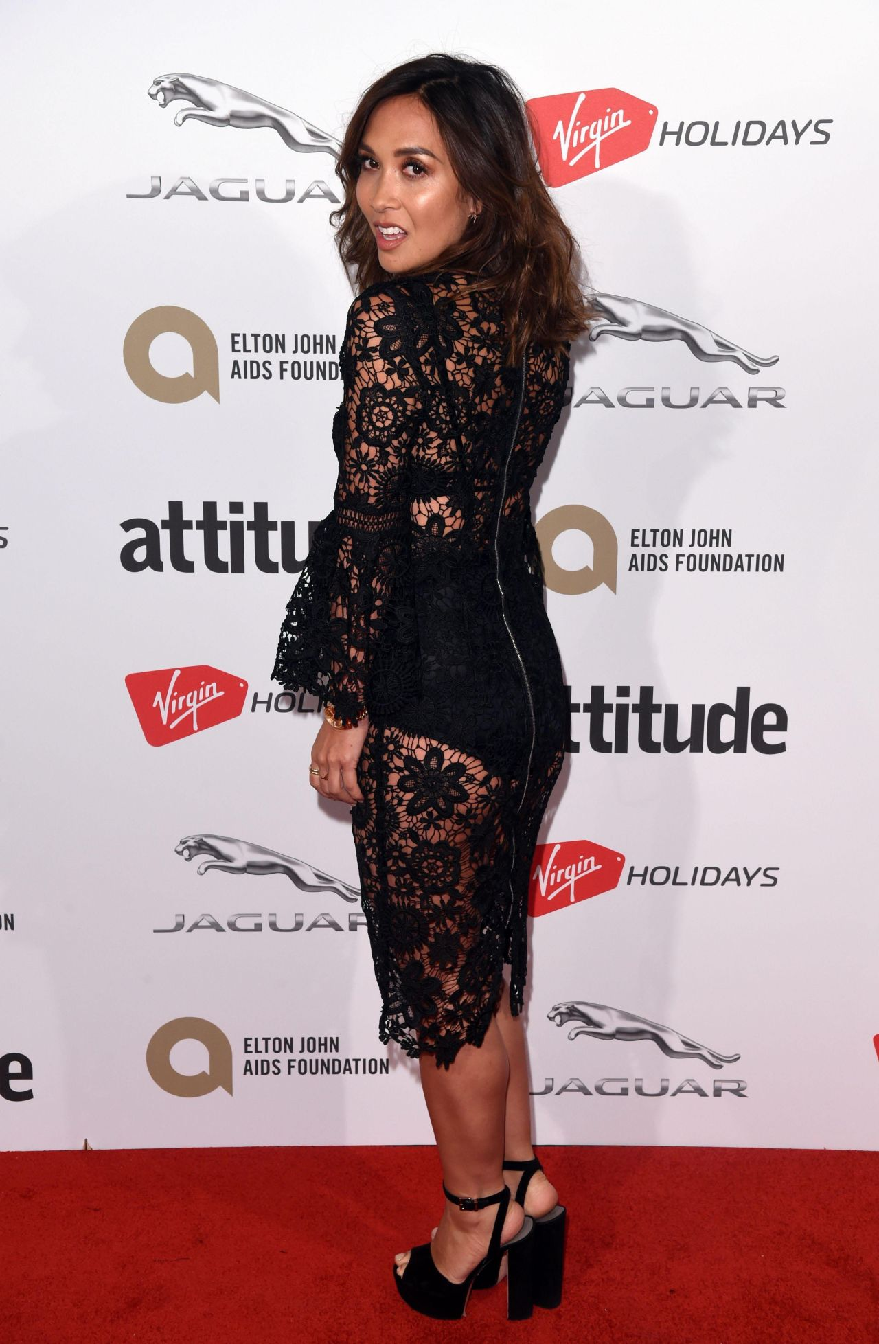 Myleene Klass – Attitude Magazine Awards 2017 in London
