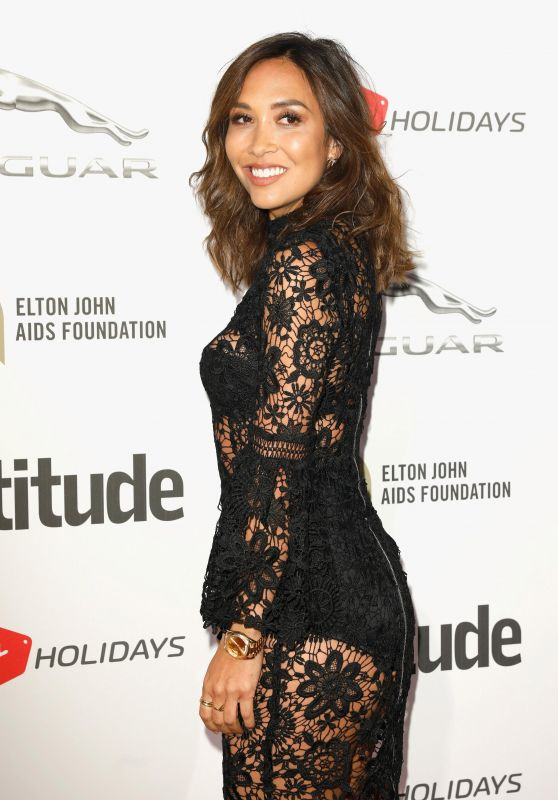 Myleene Klass – Attitude Magazine Awards 2017 in London