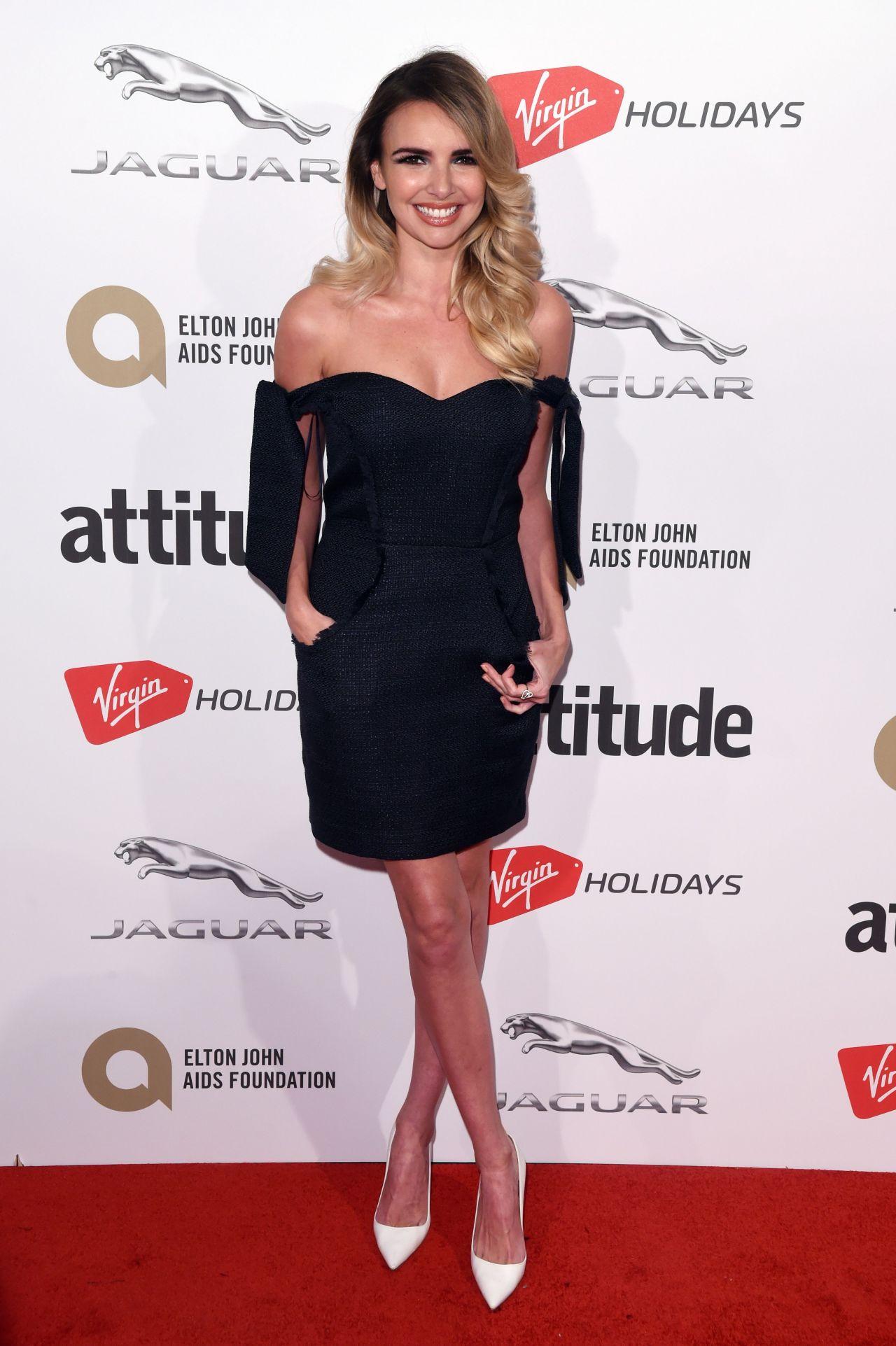 Nadine coyle attitude magazine awards in london