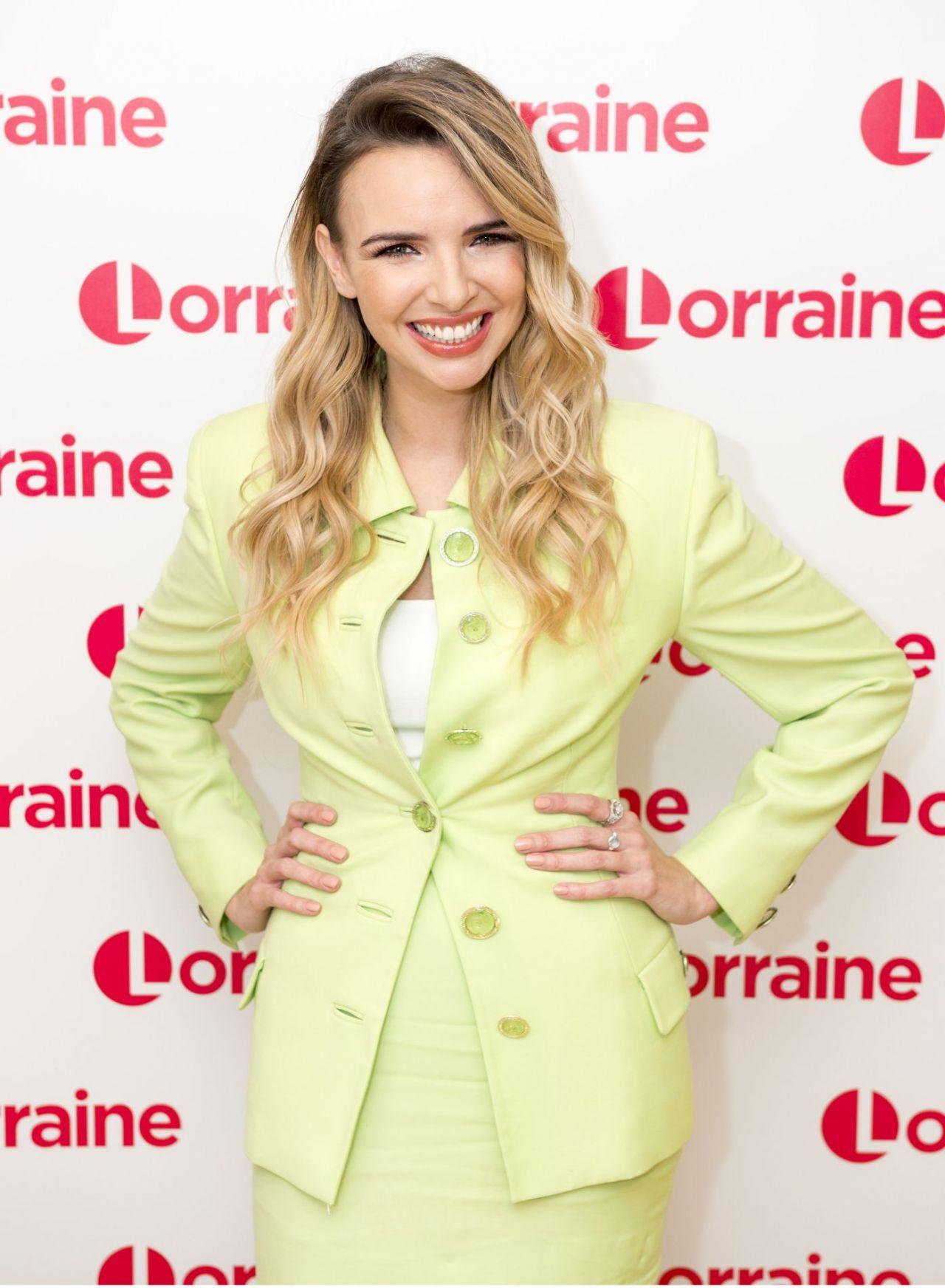 Nadine Coyle - Lorraine TV Show in London 10/10/2017