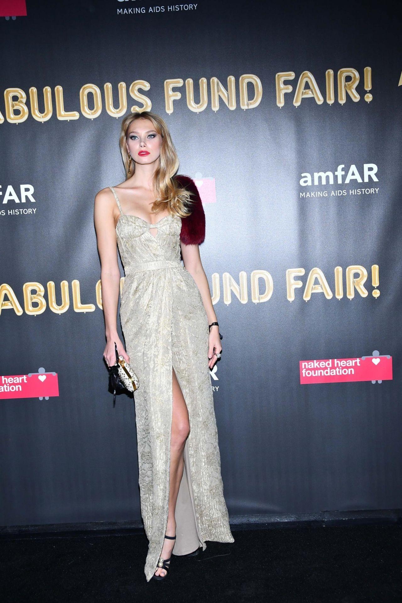 Nadine Leopold – 2017 amfAR Fabulous Fund Fair in NYC