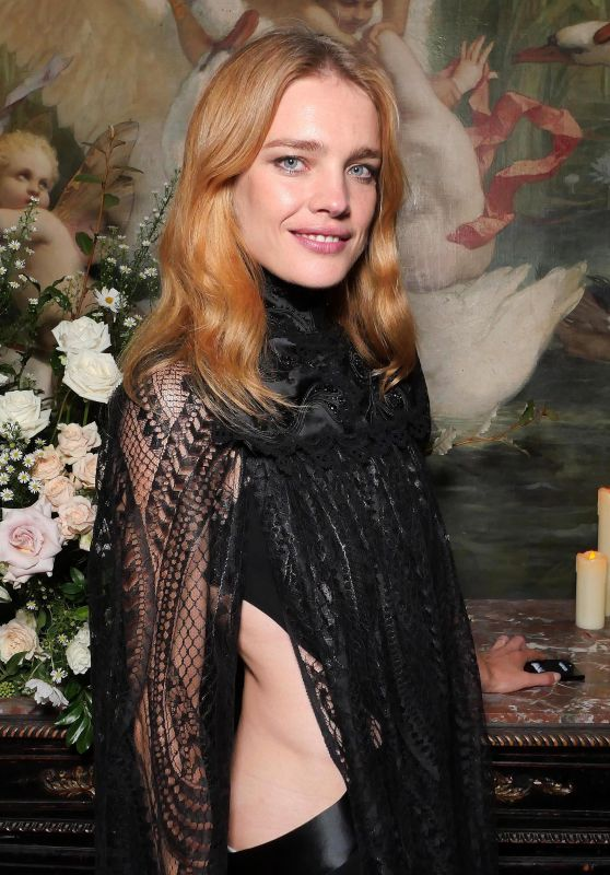 Natalia Vodianova – Maria Carla Boscono Party, PFW in Paris 09/29/2017
