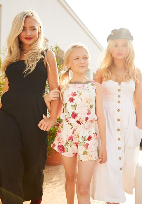 Natalie Alyn Lind, Emily Alyn Lind, Alyvia Alyn Lind - Photoshoot for Glamour.com, October 2017