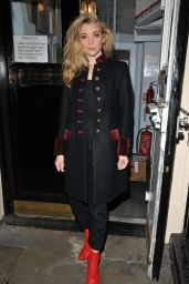 Natalie Dormer - Leaving The Haymarket Theatre After Performing in