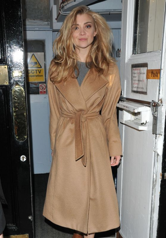Natalie Dormer Night Out in London 10/23/2017
