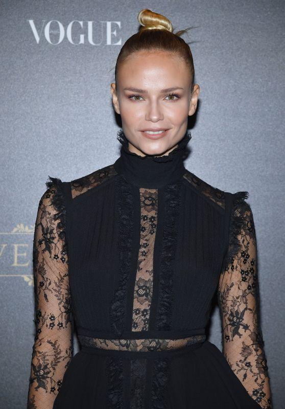 Natasha Poly – Vogue Party at PFW in Paris 10/01/2017